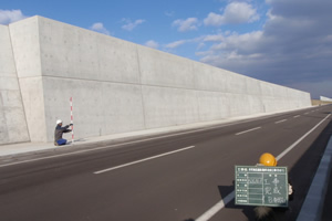 弁天地区道路(護岸)改良工事(その1) 完成(BP~)