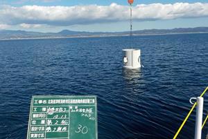 北海道津軽海峡地区函館銭亀漁礁設置工事 ブロック沈設