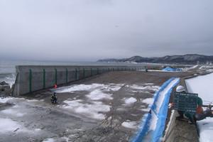 元村恵山線(B改-217)工事 完 成