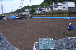 元村恵山線(B地-822)工事 本工事02 着工前