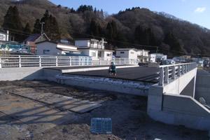 元村恵山線(B地-822)工事 本工事01 完 成