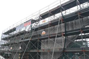 函館新外環状道路 函館市 石川南改良工事 場所打ち函渠工施工完了