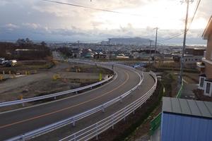 函館新外環状道路 函館市 墓園通跨道橋下部外一連工事 完 成