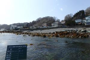 石倉海岸老朽化対策工事1工区(補正) 着工前