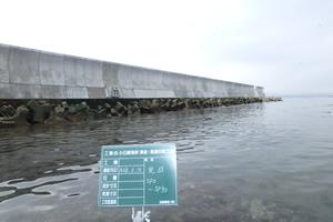 小石崎海岸津波・高潮対策工事 完 成