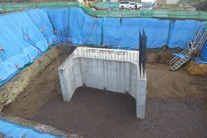 函館新外環状道路 函館市 墓園通跨道橋下部外一連工事 施工イメージ