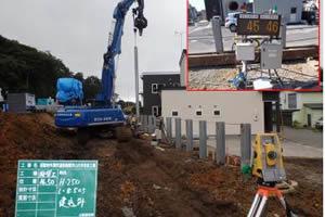 函館新外環状道路 函館市 山の手改良工事 施工イメージ