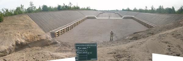 駒ヶ岳(押出Aの沢)地域防災対策総合治山事業 完 成