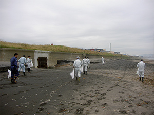 函館海岸清掃美化活動 市民ボランティア