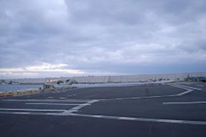落部漁港地域水産基盤整備工事3工区 本工事02 完成