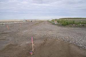 落部漁港地域水産基盤整備工事3工区 本工事01 着工前