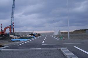 落部漁港地域水産基盤整備工事3工区 本工事01 完成