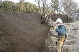 一般国道 229号 乙部町 豊浜災害防除外一連工事 熊石西浜工区 施工状況