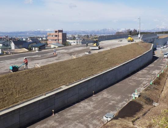 函館新外環状道路 函館市 赤川改良工事 施工イメージ