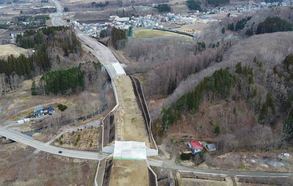 函館新外環状道路 函館市 赤川改良工事 完成