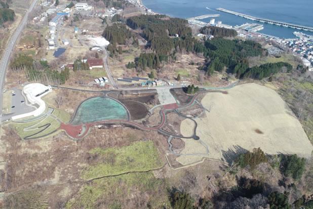 史跡垣ノ島遺跡保存設備工事 完成