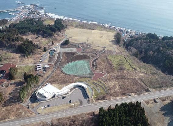 史跡垣ノ島遺跡保存設備工事 施工イメージ