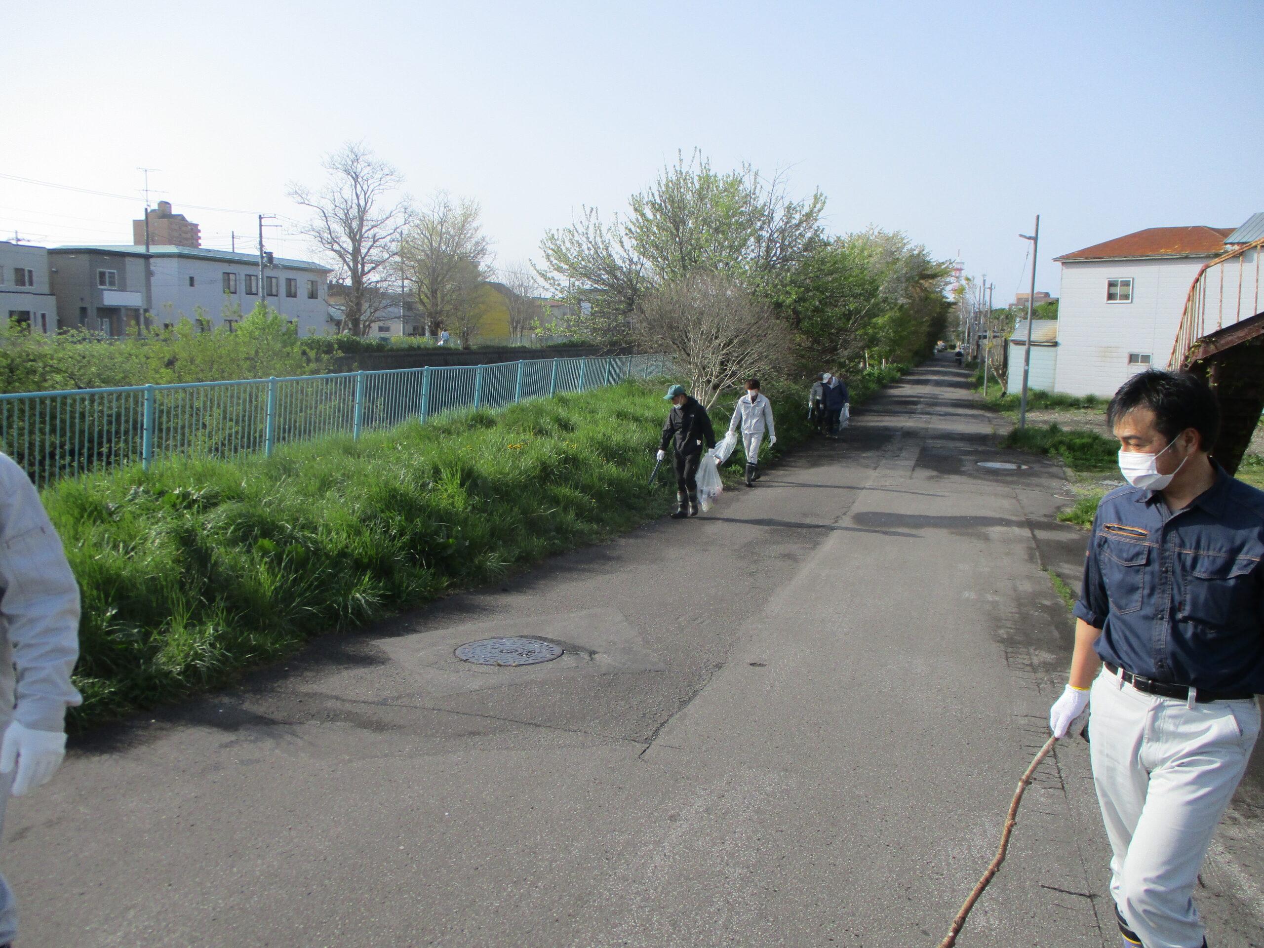 亀田川清掃活動ボランティア