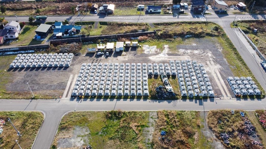 噴火湾周辺地区八雲南部増殖場造成工事 施工イメージ