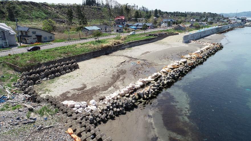 山越海岸老朽化対策工事(繰越)外 着工前